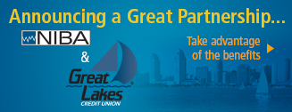 Take advantage of the NIBA and Great Lakes Credit Union partnership